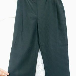 Trina Turk Black Career Trousers Flat Size 0